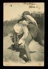 West Africa France Senegal WRESTLERS 1912 PPC