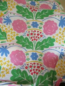 Vintage MARIMEKKO by Dan River Twin Flat and Fitted Sheet