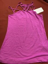 Fabletics Strappy Halter Exercise Tank New With Tags Soft Jersey Fabric Size Sm