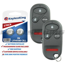 2 New Replacement Keyless Entry Remote Key Fob Control For Honda A269ZUA101