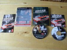 PLAYSTATION 2/PS2-Driver: linee parallele-EDIZIONE PER COLLEZIONISTI-Steelbook