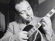 Vintage photo music legend guitariste django reinhardt poster print BB12344B