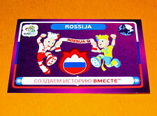 32 MASCOTTES RUSSIE ROSSIJA  FOOTBALL PANINI UEFA EURO 2012