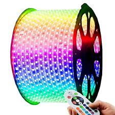 LED Strips 60 pcs SMD 3528 5050 RGB Multicolour Strip Rope 220V 240V Waterproof