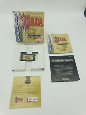 GAMEBOY ADVANCE GBA BOXED BOITE LEGEND OF ZELDA LINK TO THE PAST FOUR SWORDS EUR