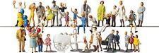 Kirmes - Figuren 36 Stück, Faller Figuren Miniaturwelten H0 (1:87), Art. 153006