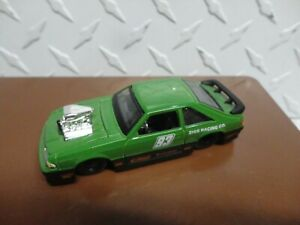 Loose Maisto Green 1993 Ford Mustang Cobra w/Real Riders