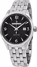 Hamilton Men's Jazzmaster Black Dial Stainless Steel Viewmatic Watch H32755131