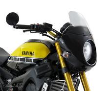YAMAHA XSR900 16/BLACK NOSE FAIRING (WITH LIGHT SMOKE SCREEN)