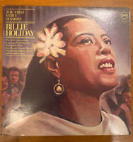 "BILLIE HOLIDAY ""The First Verve Sessions""12 vinyl LP (two-record set)"