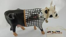 "COW PARADE MEDIUM - RARE & RETIRED ""DISCO COW"" Stamford, U.S.A. 2001. Mint 9134"
