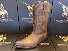 Sancho Boots Cowboystiefel Westernstiefel 5236 Braun bereits besohlt