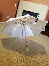 "30"" White photoflex umbrella"