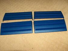 Pressman Rummikub Tile Racks Holders -  4 Replacement Holders  blue