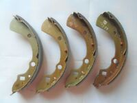 mazda 323 FWD rear brake shoes 1980 on free p&p no reserve