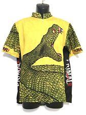 PRIMAL WEAR Men's 3/4 Zip Cycling Jersey, Striking Viper, w/ Coolmax- XL, EUC