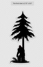 Tree Peeker Bigfoot Decal