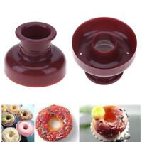 Donut Doughnut Maker Cutter Mold Fondant Cake Bread Desserts Bakery Mould Tool