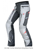 DRIRIDER Vortex Adventure Motorcycle Pants New! rrp $329! All Seasons Grey