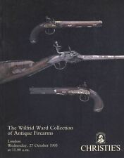 Christie's London, The Wilfrid Ward Collection of Antique Firearms 1993.