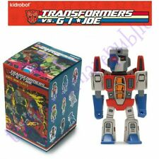 Kidrobot Transformers vs GI Joe Vinyl Mini Series Figure Starscream 2/24 Hasbro