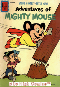 ADVENTURES OF MIGHTY MOUSE (1959 Series)  (DELL) #152 Fine Comics Book