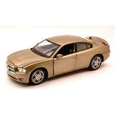 DODGE CHARGER LIGHT BROWN 1:24 New Ray Auto Stradali Die Cast Modellino