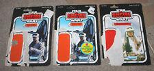 Kenner Star Wars ESB Hoth Rebel Commander & Soldier Backer Card Package Lot