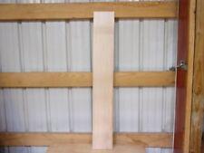 """1 Pc Hard Maple Lumber Wood Kiln Dried Board 45 1/2""""X 7 1/16""""X 1 1/16"""" Lot 2Bb"""