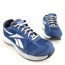 Reebok Men's Ketee Sneakers Steel Toe Safety Shoes RB1825 Blue Gray Size 9 Wide
