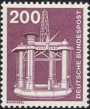 Germany 1975 Industry/Technology/Oil Well/Drilling Platform/Minerals 1v n29148t