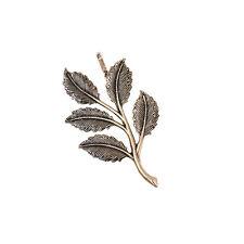 Epingle à Cheveux Feuille Ancien Vintage Style Original Soirée Mariage Cadeau