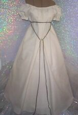 CIVIL WAR SOUTHERN IVORY CREAM CHEMISE GOWN DAY DRESS