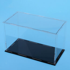 Anime Action Figure Doll Display Clear Case Box 35x18x13cm   Cube Gift