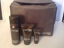 Lancôme Men's 4 Piece Wash Bag set. Incs 30ml Ultimate Cleansing Gel
