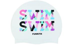 Funkita Swim Swim Silicone Comfortable Swimming Pool Swim Cap