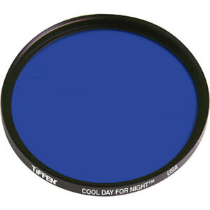 New Tiffen 52mm Cool Day for Night Lavender Blue Cooling Filter # 52CDFN