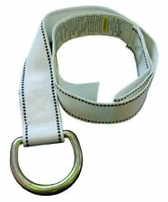 NEW Guardian Fall Protection 10705 3 Foot White Lanyard Strap with D Ring