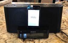 Sony Dream Machine iPod iPhone FM/AM Clock Radio Speaker Charging Station