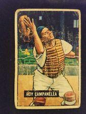 1951 Bowman Baseball Card # 31 Roy Campanella