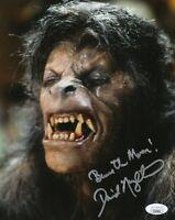 David Naughton Autograph Signed 8x10 Photo -American Werewolf in London(JSA COA)