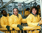 STS 51L CHALLENGER CREW EMERGENCY EGRESS TRAINING 8X10 NASA PHOTO AB 677