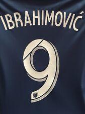 Adidas LA Galaxy Away Jersey Navy White 19/20 #9 Ibrahimovic Size L Men's Only
