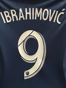 Adidas LA Galaxy Away Jersey Navy White 19/20 #9 Ibrahimovic Size XL Men's Only