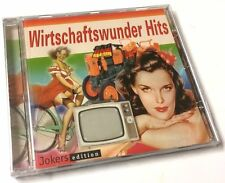 CD Wirtschaftswunder Hits: Schlager der Zeit 1949-60 (Bill Ramsey,Bully Buhlan..