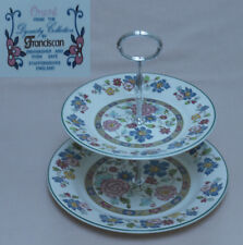 "Franciscan ""Orient"" TWO TIER CAKE STAND"