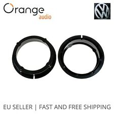 VW Golf IV, Golf V, Passat, Touran, Bora Speaker Adaptors Rings 16cm 165mm 6.5""