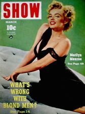Marilyn Monroe Magazine 1953 Show 20th Century Fox Niagara Lilly Christine Rare