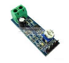 New LM386 Audio Amplifier Module 200 Times 5V-12V Input 10K Adjust Resistance