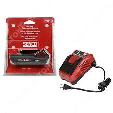 Senco VB0155 18V Li-Ion Battery and VB0156 Battery Charger for Fusion Tools New